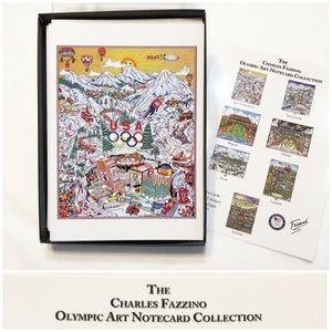 International Olympics Cards by Charles Fazzino